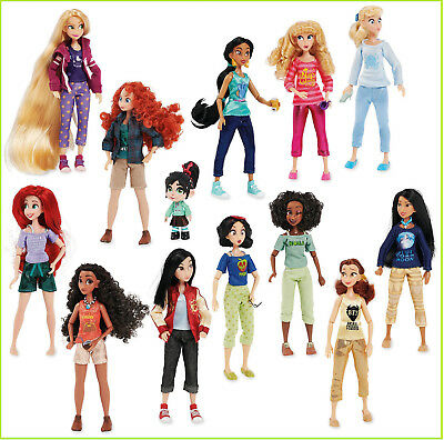 Disney Wreck it Ralph 2 Breaks the Internet Doll Set Vanellope with Princesses