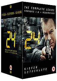 24 Series 1-8 Complete (DVD, 2011)