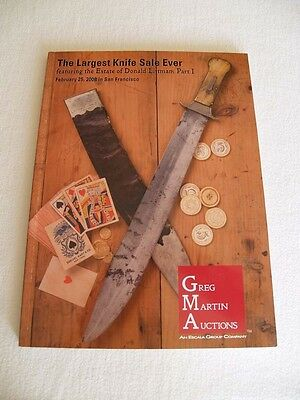 Antique Bowie Knife (Littman Collection) Book Catalog Vintage Randall Knives