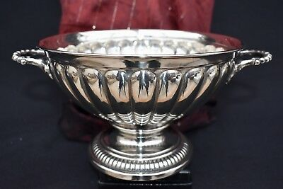 Special Order Wmf Silver Plated Centre Piece Bowl, Stamped With The Antler Mark