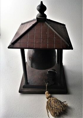 Antique Chinese Bronze Hanging Zong Bell / Gong