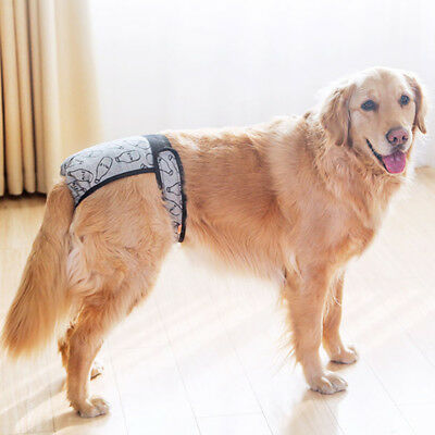 Baoblaze Washable Male Female Dog Diapers Nappy for Small Medium Large Dogs