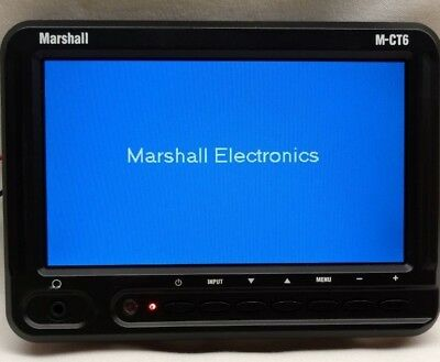Marshall M-CT6-C511 camera top monitor with Canon BP-511 battery power adapter