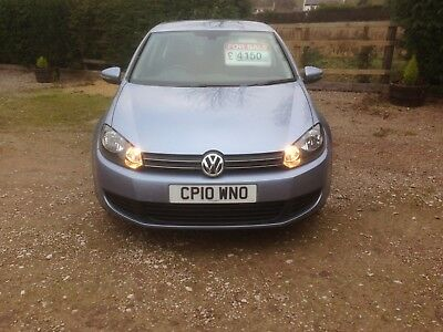 2010 Mk6 Volkswagen Golf 1.6 TDI Bluemotion