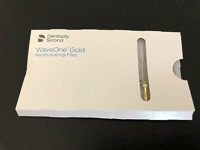 1 Pack of Tulsa Dental Waveone Gold Small Yellow 25mm. Wave One
