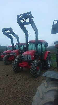Due In Mccormick Cx 95 Extrashift  54 Reg With Quicky Q760 Power Loader 5100 Hrs