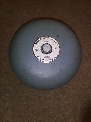 Vintage Standard Electric Time Co. Clock System/General Signaling Bell