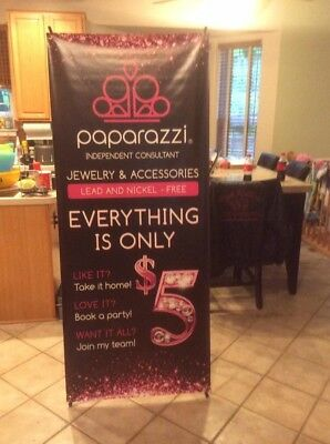 """Banner X- stand Included 32""""x 71"""""""
