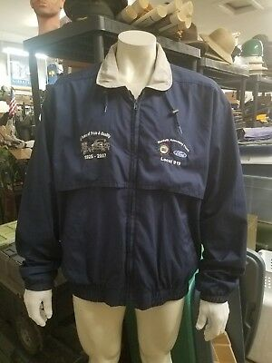 ANNIVERSARY JACKET Mens 2XL Ford Motor Truck Assembly Plant 82yrs 1925-2007 RARE