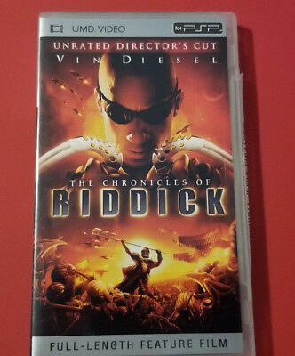 Chronicles of Riddick Unreated Director's cut (UMD, 2005) - Used