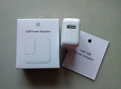 LOT OEM 12W USB Power Adapter Wall Charger for Apple iPad 2 3 4 Air Pro
