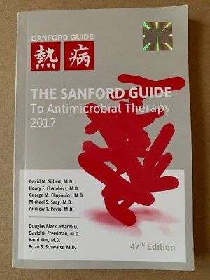 The Sanford Guide To Antimicrobial Therapy 2017 - ISBN 9781944272005