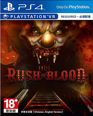Until Dawn: Rush of Blood - PS4 / PSVR - NEW & SEALED