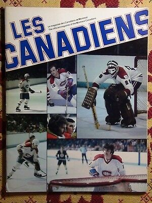Programme friendly match Montreal Canadiens - Spartak Moscow 1978