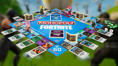Monopoly Fortnite Birthday Gift Limited Edition Board Game Prime Kids Video Game