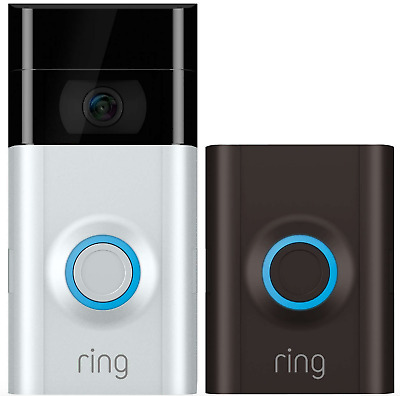 RING Video Doorbell 2 Motion Activated 1080HD Video 2-Way Talk Camera Wifi - NEW