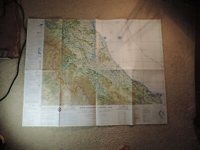1967 Vietnam War US Army Corps of Engineers Vinh Vietnam 1:250,000 Map