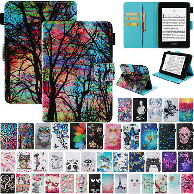 Magnetic Pattern Flip Leather Case Cover For New Kindle Paperwhite 10th Gen 2018