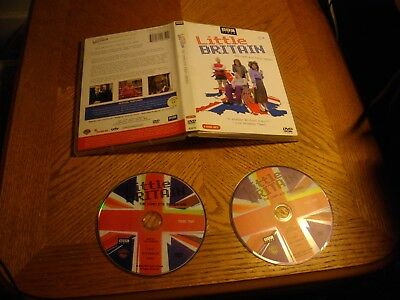 Little Britain - The Complete First Series (DVD, 2005, 2-Disc Set)