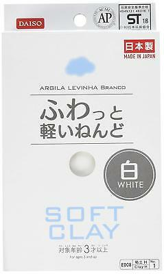 New Sale DAISO DIY Soft Clay Arcilla Suave Lightweight White Made in Japan