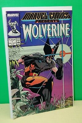 Marvel Comics Presents Wolverine #1 1988  Unread High Grade