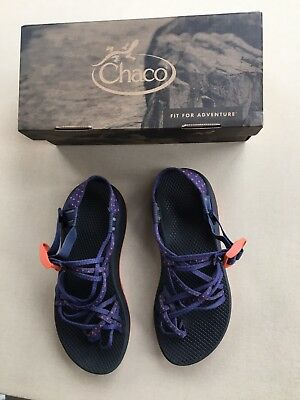 5855962d37e Chaco ZX3 Classic Comfort Sandal Festoon Blue Womens Size 8  Only Worn Twice