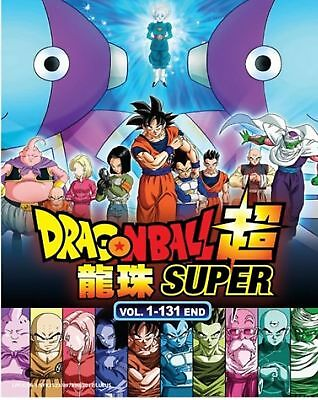 Anime DVD DRAGON BALL SUPER VOL.1-131 END Complete Animation MG