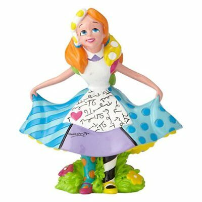 Enesco Disney Alice in Wonderland Mini-Statue by Romero Britto