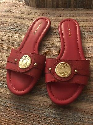 443fc0a3328d TOMMY HILFIGER WOMEN S Icela Sandal - (Red)   -  35.00