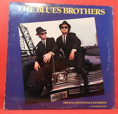 The Blues Brothers Soundtrack Aretha Lp 1980 Original Great Condition! Vg+/vg!!a