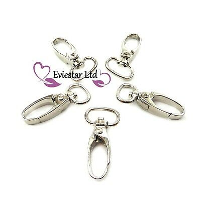 Lobster Clasps Swivel Trigger Clips Snap Hooks Key Ring, Jewelry Findings (ATL3)