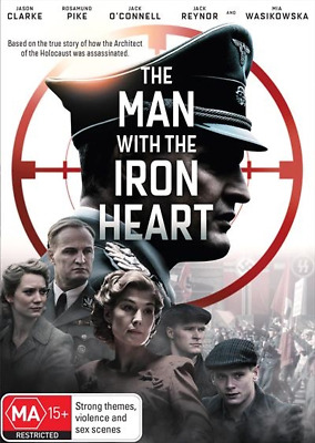 The Man With The Iron Heart (DVD, 2018) NEW