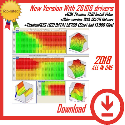 New Titanium Software Tuning For Remap ECU 26106 Drivers |+Titanium FILES 13.000