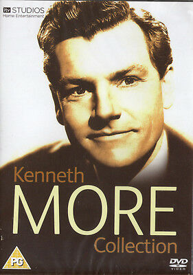 Kenneth More Collection. 5 Classic Brit Films. 5 DVD Box. New In Shrink!