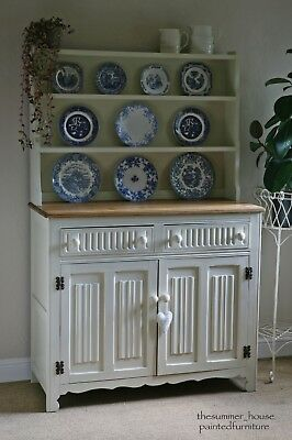 Stunning Shabby Chic Vintage Ercol Dresser Painted in Farrow & Ball