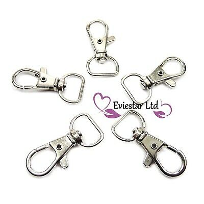 Lobster Clasps Swivel Trigger Clips Snap Hooks 37mm, Jewelry Findings (ATA4)