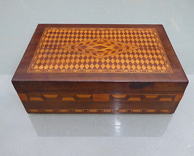 Beautiful Parquet Inlaid Box