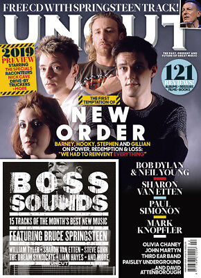 Uncut Magazine - Issue 261 - February 2019 -New Order, Bruce, Dylan + Cd