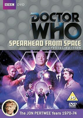 Doctor Who - Spearhead from Space - REGION 2 - direct from UK - BBC Dr Who MINT