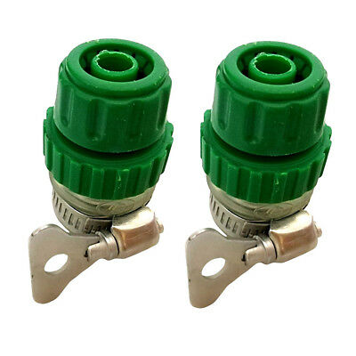 Universal Tap Connector Adapter Mixer Kitchen Garden Hose Fitting Clamp Clip