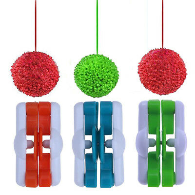 Hand Kits Crocheting Yarn Pompom Maker Fluff Ball Weaver Tool Wool Knitting