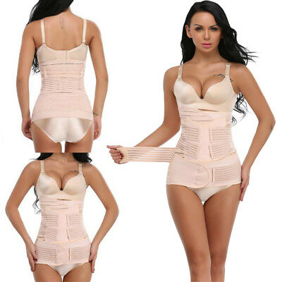 3 in 1 Postpartum Support Recovery Belly Waist/Pelvis Belts Slimming Body Shaper