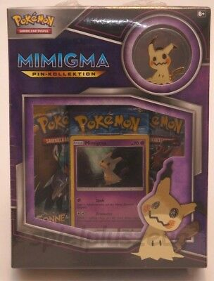 Pokemon Mimigma Pin-Kollektion deutsch NEU OVP