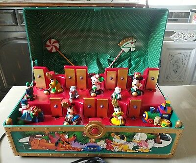 MR. CHRISTMAS MICKEY'S Musical Toy Chest Disney Mouse 35 Songs