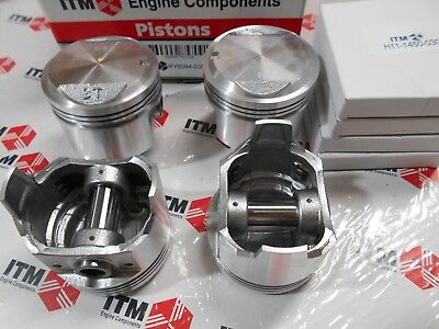 TOYOTA COROLLA 3TC 1800 + 020 oversize 4-Pistons Set with Piston Rings 80-2