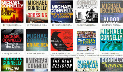 Michael Connelly Collection - Poet - Crossing - Miles + 36 Books (E-B00Ks, .PDF)
