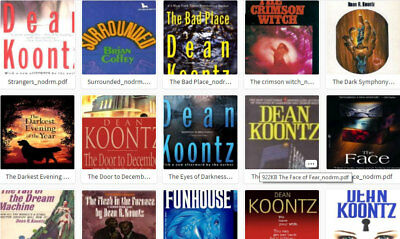 Dean Koontz Collection - Face of Fear - Strangers ++ 80+ Books (E-B00Ks, .PDF)