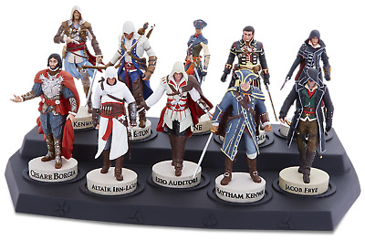 Official Assassin's Creed Collection Figures & Magazines Odyssey Origins Extras