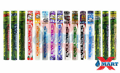 17x Cyclones VARIETY PACK ALL FLAVORS Flavored Pre-Rolled Cone Tubes - 29 CONES!