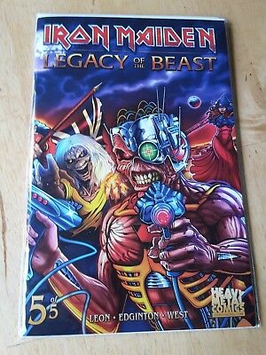 Iron Maiden Legacy of the beast SDCC special Comic #5 limited 666pcs. very rare